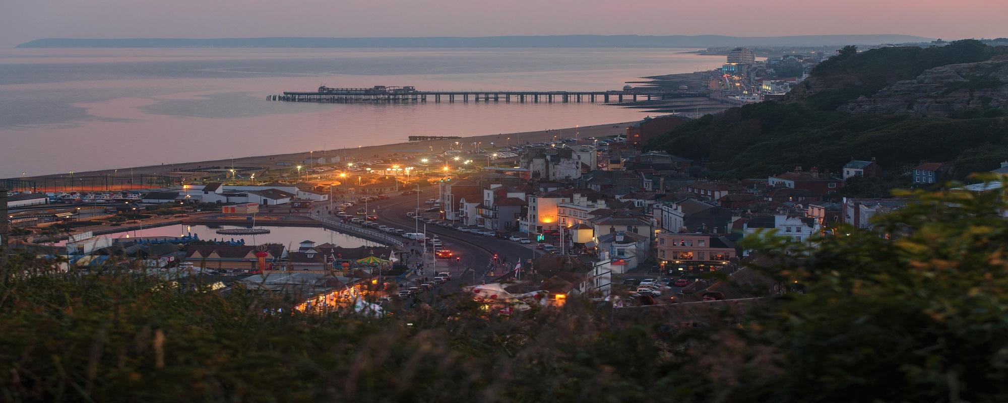 Immagine di città slider anno all'estero di Hastings