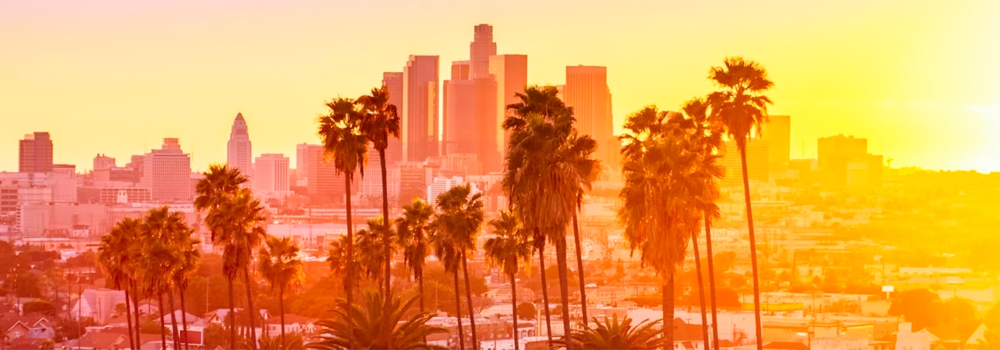 Summer holiday destination slider image Los Angeles