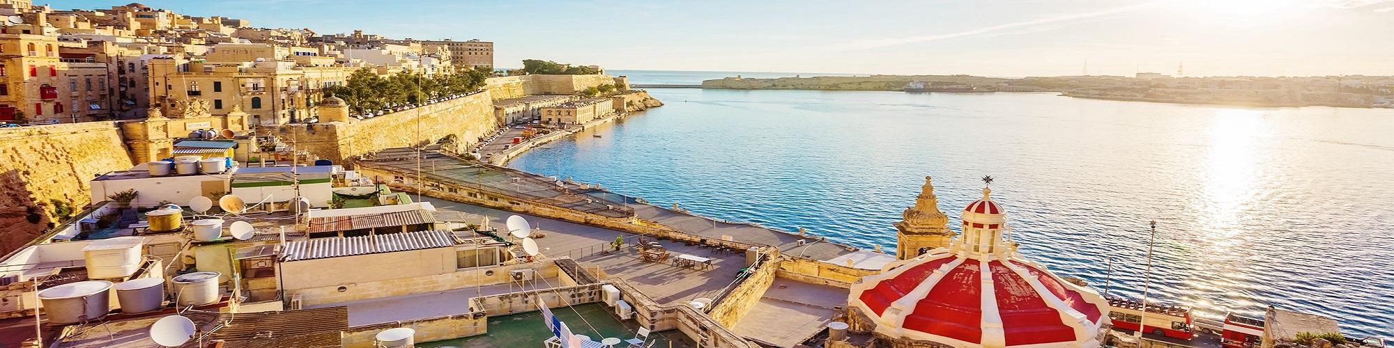 Immagine di destinazione slider vacanze studio di Malta