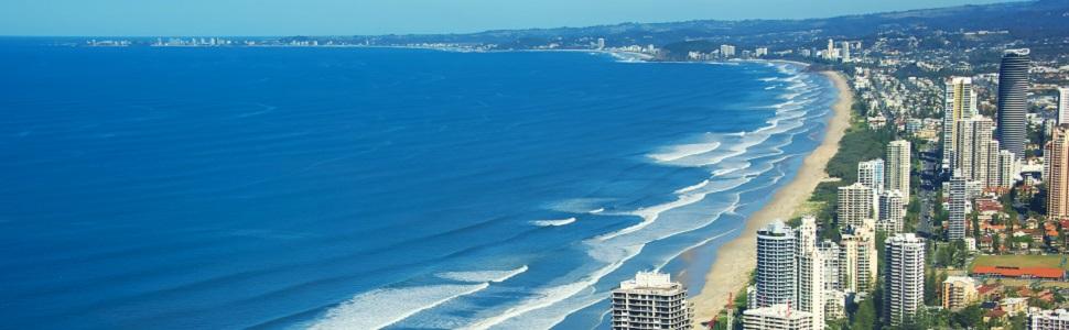 Immagine di città slider anno all'estero di Gold Coast