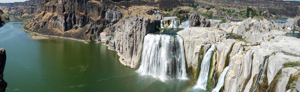 Immagine di città slider anno all'estero di Idaho falls