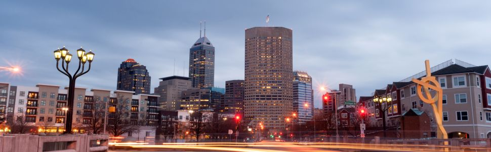 Immagine di città slider anno all'estero di Indianapolis