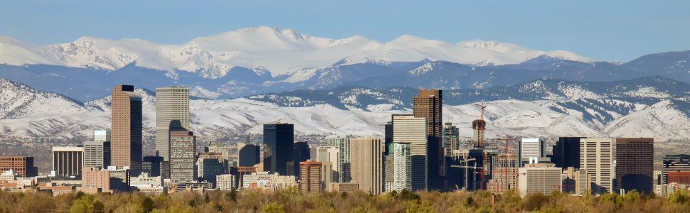 Immagine di città slider anno all'estero di Denver