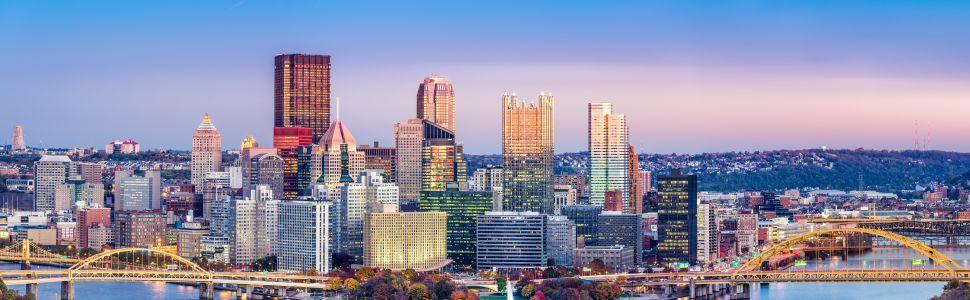 Immagine di città slider anno all'estero di Pittsburgh
