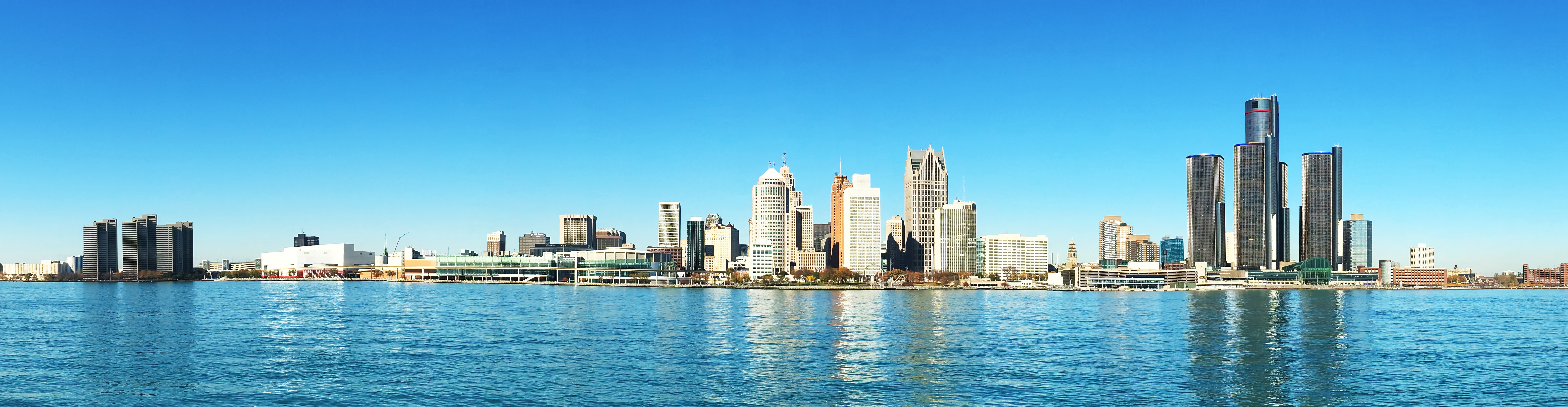Immagine di città slider anno all'estero di Detroit