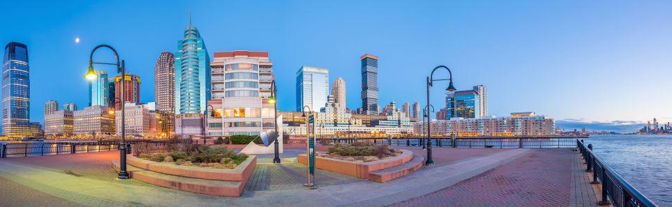 Immagine di città slider anno all'estero di Newark