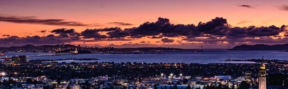 Immagine di città slider anno all'estero di Berkeley