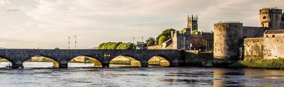 Immagine di città slider anno all'estero di Limerick