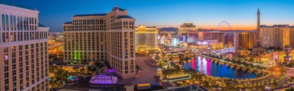 Immagine di città slider anno all'estero di Las Vegas