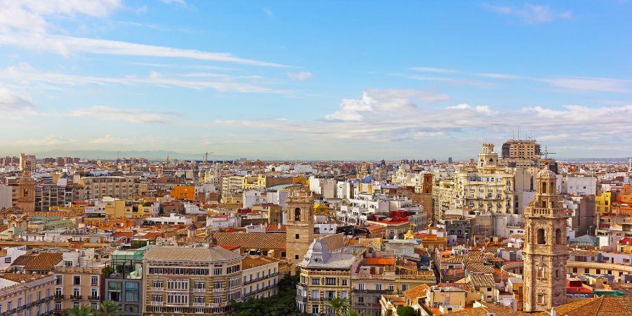 Immagine di regione slider anno all'estero di valencia