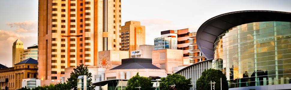 Immagine di città slider anno all'estero di Adelaide