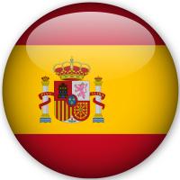 Classic Anno All'estero bandiera nazionale di Spagna
