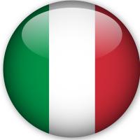 Anno All'estero bandiera nazionale di Italia