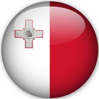 Anno All'estero bandiera nazionale di Malta