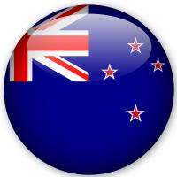 Anno All'estero bandiera nazionale di nuova zelanda